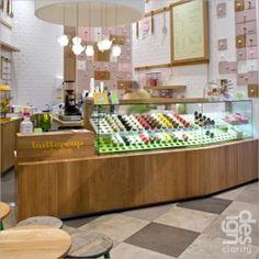 Buttercup Cake Shop by designclarity #detail #light