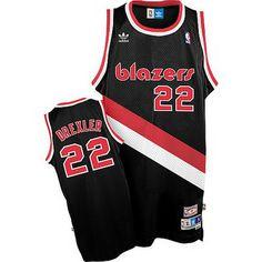 4247fa687 Discover the Jerome Kersey Portland Trail Blazers Soul Swingman Black Jersey  For Sale collection at Footseek. Shop Jerome Kersey Portland Trail Blazers  Soul ...