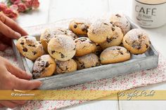 Biscotti Cookies, Yummy Cookies, Baking Recipes, Cookie Recipes, Dessert Recipes, Happiness Recipe, Nutella Biscuits, Italian Cookies, Chocolate Recipes