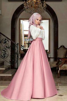 Muslim Prom Dress, Hijab Prom Dress, Muslimah Wedding Dress, Hijab Evening Dress, Muslim Wedding Dresses, Indian Gowns Dresses, Pakistani Dresses, Moda Emo, Muslim Fashion