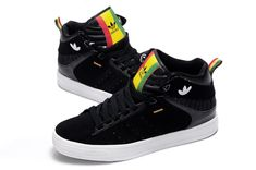 New Adidas Shoes High Tops | New Adidas Originals Freemont Retro High top Shoes Black on sale,for ...