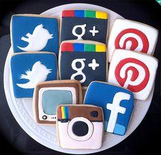 Redes Sociais mais acessadas.