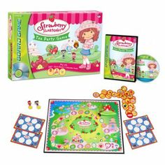 Strawberry Shortcake™ Tea Party DVD Board Game: Toys & Games