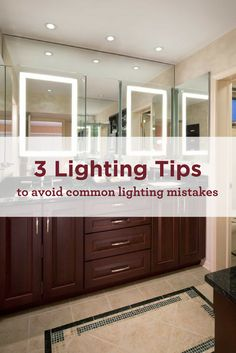Lighting is often overlooked when designing a home, but it can make or break a room. Check out our 3 lighting tips to avoid common lighting mistakes.  Maura Braun Interior Design, INC. www.maurabrauninteriordesign.com