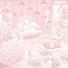 Pastel Pink Wallpaper, My Melody Wallpaper, Sanrio Wallpaper, Soft Wallpaper, Bear Wallpaper, Kawaii Wallpaper, Kawaii Background, Pastel Background, Pink Aesthetic