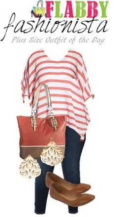 >>  Plus Measurement Outfit of the Day – Determine Flattering Chevron - City Angels