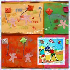 Releitura de obras Brasileiras IVAN CRUZ Ivan Cruz, Art Education, Alice, Scrap, Flag, School, Gabriel, 1, Bulb