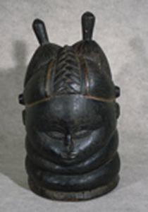 Ndoli Jowei (Sande Society Helmet Mask)