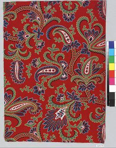 Piece | Russian | The Met Paisley Art, Chinese Painting, Wall Treatments, Arabesque, Surface Pattern, Art History, Egyptian, Printing On Fabric, Pattern Design