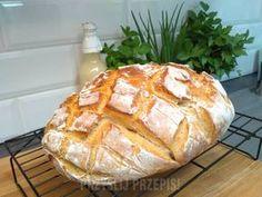 Chleb z gara na maślance Bread Rolls, Kefir, Food Porn, Cooking, Fitness, Breads, Thermomix, Kitchen, Rolls