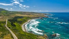 9 Stops on the California Highway 1 Discovery Route. Follow the magnificent Hwy. 1 along 101 miles to experience these nine dazzling spots including a luxurious castle and lackadaisical wildlife.