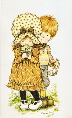 Sarah Kay - all my birthday cards : ))) Sarah Key, Holly Hobbie, Illustrations Vintage, Australian Artists, Cute Illustration, Vintage Children, Clipart, Cute Art, Cute Pictures