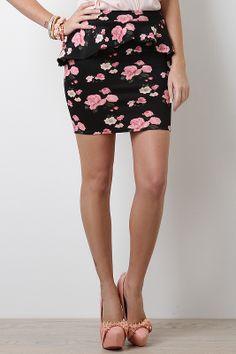Flourishing Flower Skirt #UrbanOG #Contest #SummerSaleFavorites