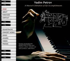 A Musical Celebration of Life Accomplishments by Vadim Petrov. Listen to sample at http://www.petrovmusic.com/Purchase-Music.html