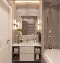 Bathroom Decor Lights regarding Modern Design For Small Bathroom. Bathroom Design In Small Space unless Modern Bathroom Design Grey Laundry Room Bathroom, Bathroom Layout, Bathroom Interior Design, Bath Room, Bathroom Ideas, Laundry Rooms, Remodel Bathroom, Bathroom Showers, Bathroom Remodeling