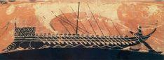 Στο νησί του Ήλιου, στο νησί της Καλυψώς και στο νησί των Φαιάκων - Ενότητα 6 - Οι περιπέτειες του Οδυσσέα Painting, Painting Art, Paintings, Painted Canvas, Drawings