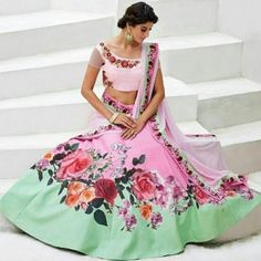Buy online lehenga from IndiaRush to revive your ethnic look and make heads turn around. #Diwali #durgapuja #designerwear