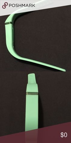 Fit bit flex replacement band-mint/seafoam green SILICONE  replacement band for fit bit flex is durable & adjustable  with metal clasps just like the original band that came with your fit bit flex. It's so fun to be able to switch out your band to go with your different work out or street clothes. See my listings for 14 other fun colors! Also available for fit bit Alta. I would describe this color as either mint green, Seafoam green or aqua or turquoise Accessories Phone Cases