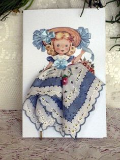 Little Lady Bow Peep by onceuponahanky on Etsy, $10.00