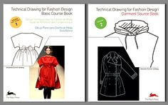 Technical Drawing for Fashion Design Books By Alexandra Suhner Isenberg    Read more: http://www.fashiontrendsetter.com/content/books/Technical-Drawing-for-Fashion-Design-Books.html