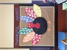 My Thanksgiving Bulletin Board