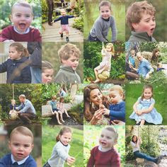 Princess Charlotte Elizabeth Diana, Prince George and baby Prince Louis Prince William Family, Prince William And Catherine, Royal Princess, Prince And Princess, Royal Family Pictures, Baby Prince, British Royal Families, Royal Life, Royal Babies