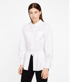 Are you looking for Karl Lagerfeld women's Karl Juste Au Corps Shirt? Discover all the details on Karl.com. Fast delivery and secure payment.