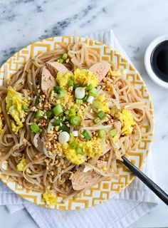 BETTER-THAN-TAKEOUT PAD THAI from Rachel Schultz