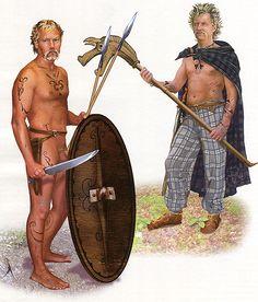 """Guerreros celtas s. II-I aC"", Maria Lashkevich"