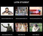 Meme Latín Student