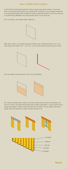 Pixel Art Tutorial - Colors by Kiwinuptuo on deviantART