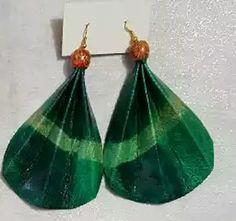 Lightweight Tie Dye Leather Earrings