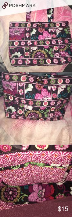 "Brand new Vera Bradley small purse/ tote New small purse. Great for the essentials. 8 x 11. 8"" inside depth from top to bottom.  10"" shoulder strap drop Vera Bradley Bags Shoulder Bags"