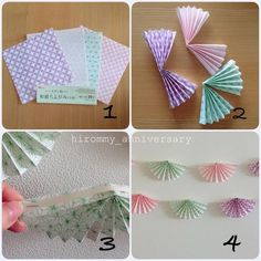 Diy And Crafts, Arts And Crafts, Paper Crafts, Happy Birthday Boy, Japanese Festival, Garland, Origami, Craft Projects, Wraps