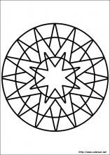 These Mandalas are for children who are ready to color coloring pages with medium to little details, or for adults who want to color without spending too much time. Here are some benefits of mandala coloring : it helps to . Mandalas Drawing, Mandala Coloring Pages, Mandala Painting, Coloring Book Pages, Coloring Pages For Kids, Coloring Sheets, Geometric Patterns, Islamic Patterns, Coloriage Lucky Luke