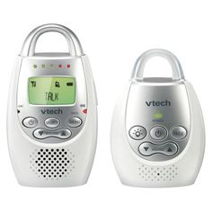 VTech Audio Baby Monitor - White/Silver