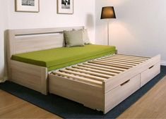 Furniture For Small Bedrooms Sofa Bed Design, Bedroom Bed Design, Bedroom Furniture Design, Home Room Design, Pallet Furniture, Home Furniture, Furniture Movers, Sofa Come Bed Furniture, Bedroom Decor