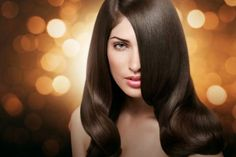 Strategically placed hair color along with the light makeup enhances what you 've got.Hair treatment