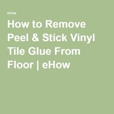 Floor Adhesive Remover Tile Flooring Woods And Basements - A basic guide to vinyl signs removal optionshow to use vinyl off to remove sign and vehicle graphicssteps