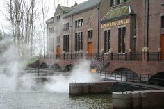 """Unesco World Heritage """"Het Woudagemaal"""" - Lemmer - Friesland, The Netherlands"""