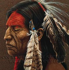 A Native American art by Kirby Sattler: http://www.firstpeople.us/native-american-art-for-sale/kirby-sattler.html