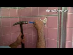 Bathroom Wall Tile Removal Tips - Are you looking for some interior titivation ideas for home? There is no doubt that house is a totally important place. Removing Tile From Wall, Removing Bathroom Tile, Bathroom Wall, Remove Tile, Bathroom Ideas, Bathtub Ideas, Bathroom Plumbing, Bath Tiles, Room Tiles