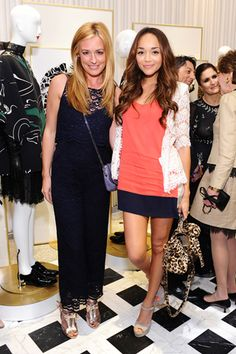 Cat Deeley and Ashley Madekwe celebrate Valentino s Rodeo Drive store  opening. Cat Deeley 78a6259c2