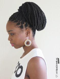 50 exquisite box braids hairstyles to do yourself long braids high ponytail box braids hairstyles by myblackhair solutioingenieria Gallery