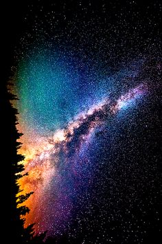 beauty light life Cool beautiful sky wonderful trees night galaxy stars crazy dark wow nature colour forest mind amazing universe wonder color milky way science Whoa knowledge cosmic contrast Cycle evololution Cosmos, Stars Night, God Of Wonders, To Infinity And Beyond, Deep Space, Out Of This World, Galaxy Wallpaper, Milky Way, Science And Nature