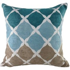 Better Homes and Gardens Lattice Chenille Textured Ombre Square Toss Pillow, x Geometric, Fun, Sophisticated, and Classic Design! Multiple Colors Available! (Aqua) * Continue to the product at the image link. (This is an affiliate link) Yellow Wall Decor, Yellow Walls, Toss Pillows, Better Homes And Gardens, Home And Garden, Texture, Classic, Fun, Design