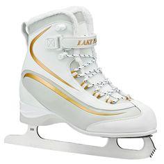 Lake Placid Everest Women's Figure Skate, White