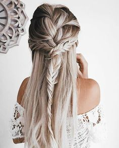 Sugestões   h a i r   Pinterest   Luau, Hair style and Hair makeup