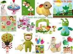 Toys for little gardeners