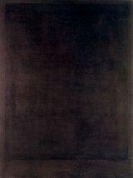 Mark Rothko No. 8, Black Form Paintings 1964